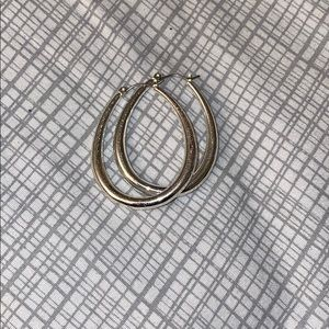 Jewelry - Unique silver hoops